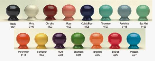 Fiesta Dinnerware Color Options
